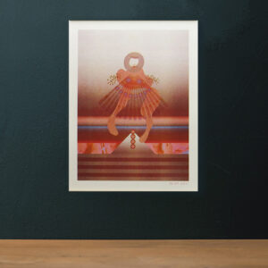 A3 Risographie Artprint | Motiv Dancer