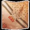 Seidencarré | BEST DAY | col. light copper