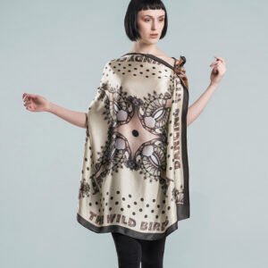 Seidenfoulard | SPACE LACE