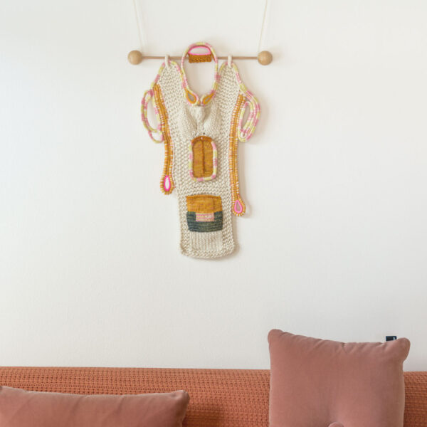 RA-AM ARTS kunstvoller Wandbehang Motiv Boyfriend