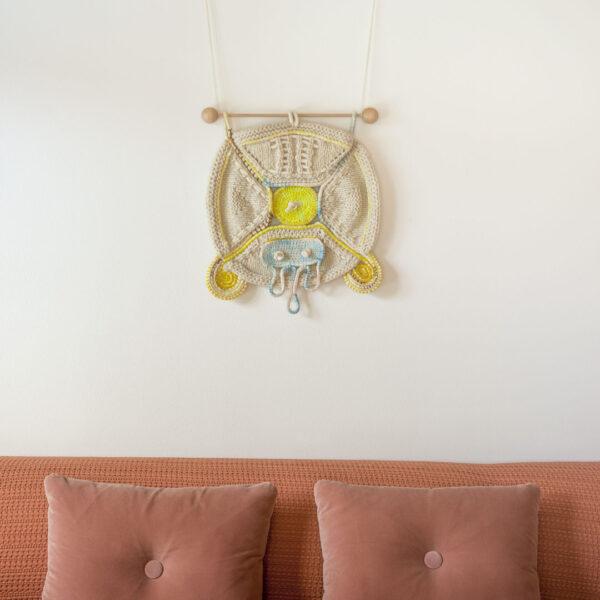 RA-AM ARTS kunstvoller Wandbehang Motiv Energy Shield