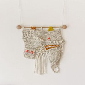 Wandbehang | Spiral | Unikat