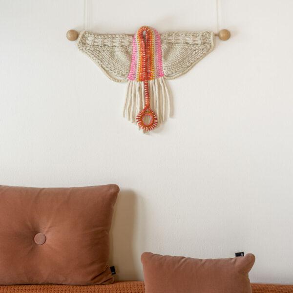 RA-AM ARTS kunstvoller Wandbehang Motiv Wings