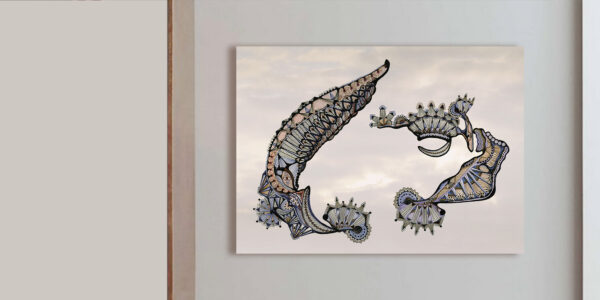 RA-AM ARTS moderne Kunst - Titel: Space