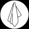Symbol Handtuch