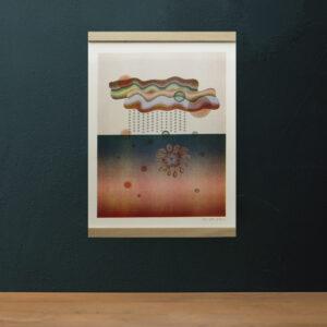 A3 Risographie Artprint | Motiv Cloud