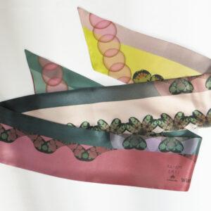 Seidenschal breit | Floating