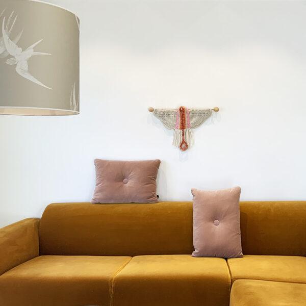 RA-AM ARTS kunstvoller Wandbehang Motiv Wing